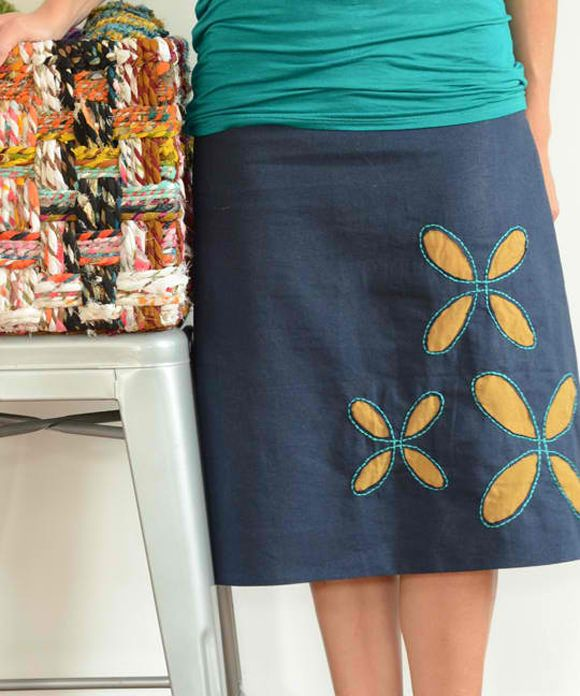 Flower Petal Skirt- very cute!