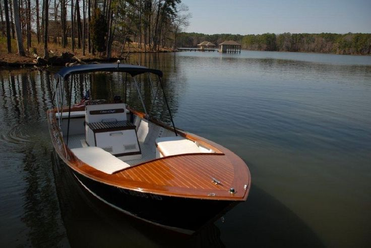Chris craft restored wooden center console dory a