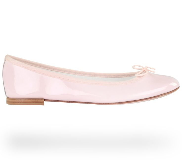 Ballerina Cendrillon Iconic Pink Patent Leather by Repetto. #Repetto #Wedding #WeddingShoes #Pink #Rose