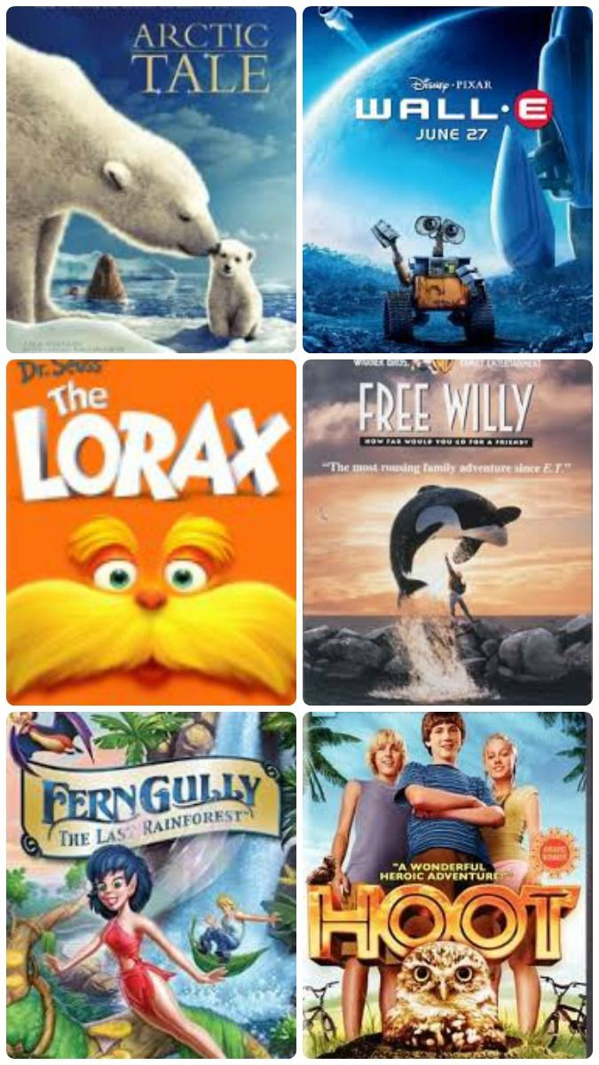 Turn family movie night into a fun way to learn about environmental issues with these 10 awesome kid-friendly films!