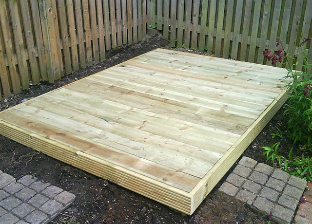 25 best ideas about shed base on pinterest shed base for Best builders workshop deck