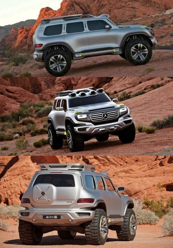 This modified Tata Xenon concept wants to be Mercedes  Ener-G-Force #TataXenon #MercedesEnerGforce #automobile