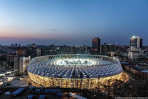 Olympic Kiev Stadium.  Alchimag.net