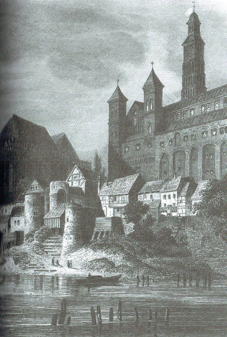"""Malbork, """"Światowid"""" ok. 1856"""