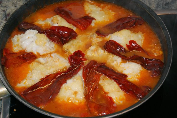 Anna recetas fáciles: Bacalao a la riojana