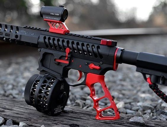 """This week on Cool Guns of The Internet. Todays post is brought to you by the color Red and real life video game guns.All you have to do is send us a picture of your firearms via email, at """"pictures…"""