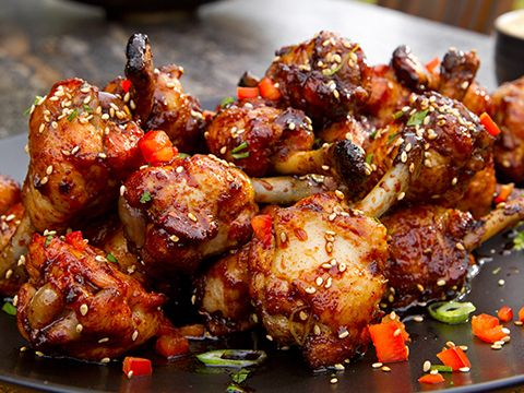 Spicy Asian Chicken Lollipops | Food Network Asia