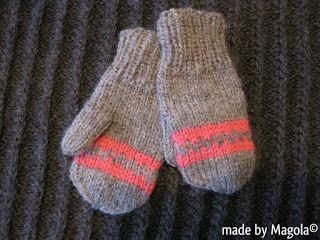 MAGOLA:Matchande vantar till mössa och  tröja