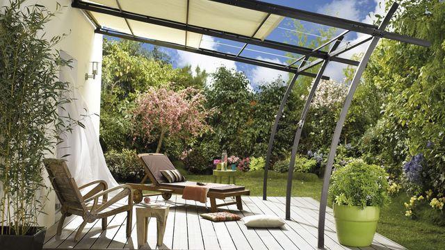 relatert bilde terrasse outdoor pergola patio privacy aluminum pergola