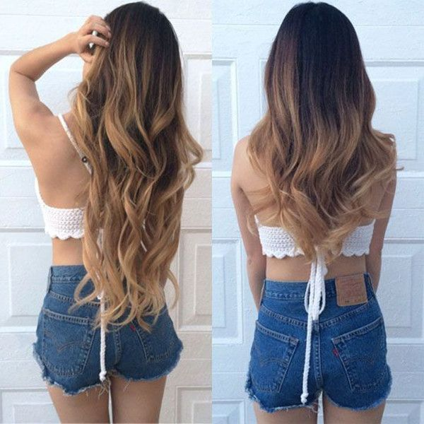 55 best hair extensions before and after images on pinterest how to add hair volume for thin hair making ideal messy hairstyles pmusecretfo Image collections