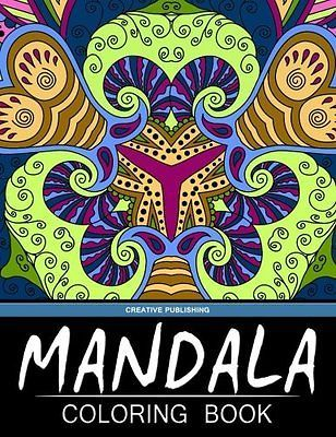 Mandala Coloring Book: Creative Publishing - The Best Coloring Books For Adults (Volume 5)