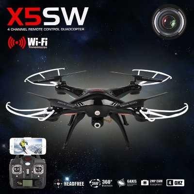 Cuadroptero Drone Syma X5sw Wifi Video En Vivo Gratis Envio