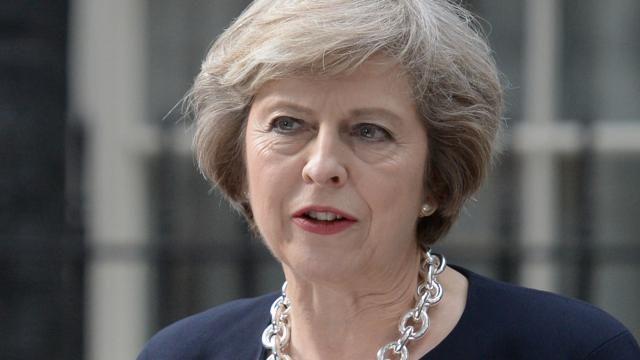 Britse premier Theresa May verschijnt op cover Amerikaanse Vogue | NU - Het laatste nieuws het eerst op NU.nl