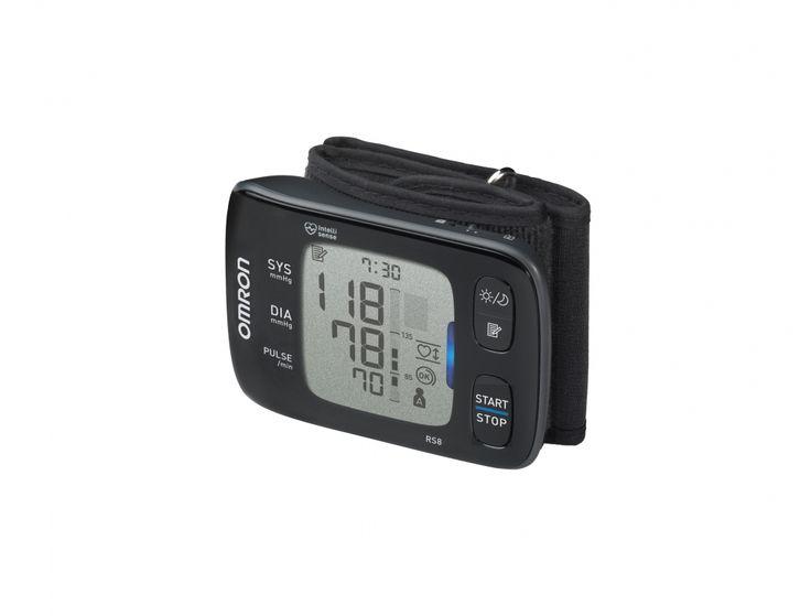 """OMRON RS8 """"okos"""" csuklós vérnyomásmérő NFC kapcsolattal"""