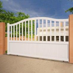 Aluminium sliding gate EMALU LEVANT