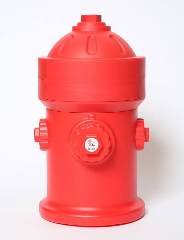 Puppy Pad Wizard is a convenient, clever way to dispose of those nasty doggy wee-wee pads. This cute fire hydrant shaped system is a convenient and oder-free way to keep soiled puppy pads from stinkin