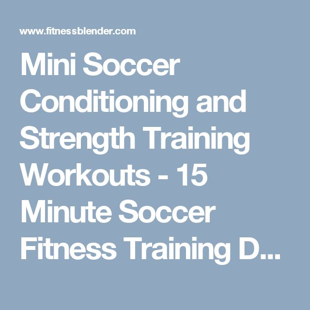strength and conditioning for soccer pdf