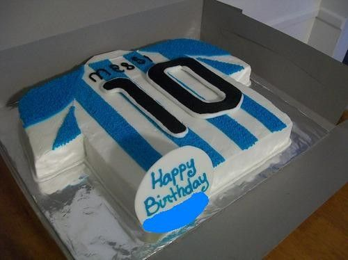 5x FOTO: Narozeninové dorty s Messim! Chtěli byste taky takový? - Leo Messi