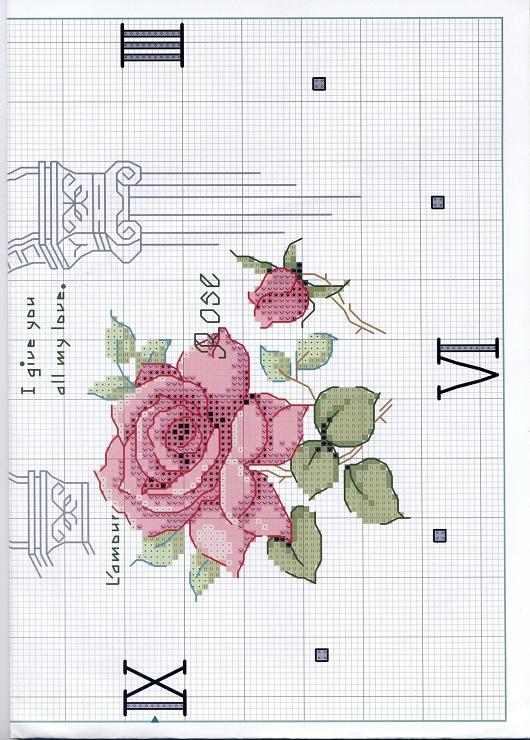 rose clock 2