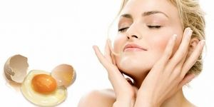 Маска для лица из яичного белка