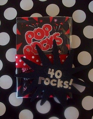 40 rocks. This would make a fun theme