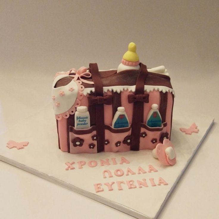 Baby bag - Cake by nef_cake_deco