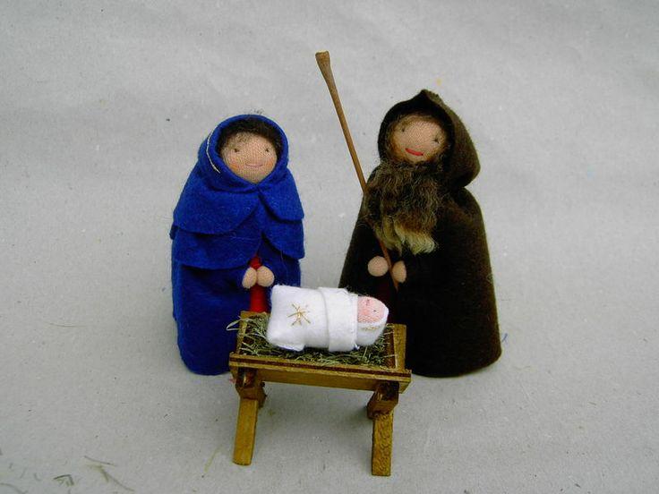 Krippenfiguren von donnamilla auf DaWanda.com