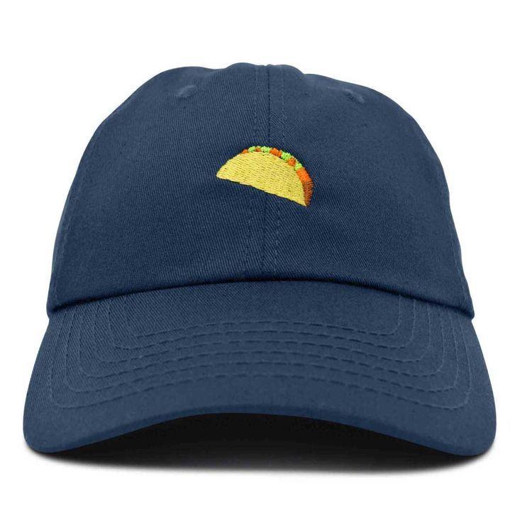 Taco Dad Hat Baseball Cap For Men Womens Emoji Caps Baseball Cap Caps Dad Emoji Hat Men Taco Womens Dad Hats Baseball Caps Dad Hats Baseball Hats