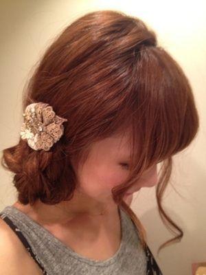 大人気ブロガー 桃のカンタンかわいいヘアアレンジ♡ミディアムヘア