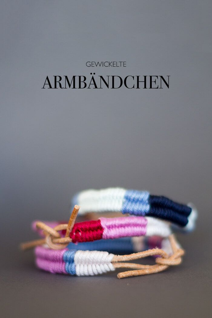 DIY gewickelte Armbändchen mit Lederband - lindaloves.de DIY Blog aus Berlin