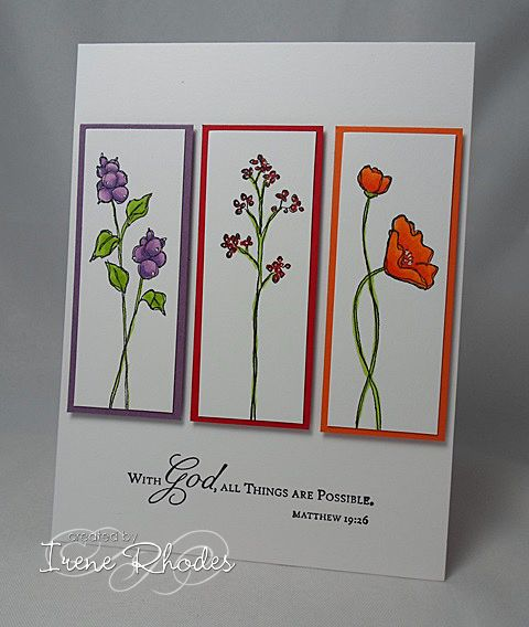 ALL Things are Possible by DandI93 - Cards and Paper Crafts at Splitcoaststampers