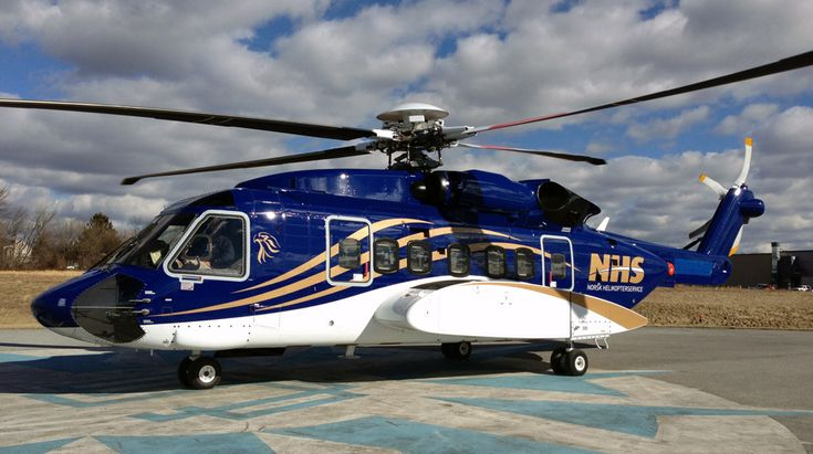 Aviation Today :: Avincis Uncovers NHS-Operated Sikorsky S-92