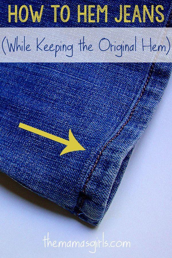 1000 ideas about hem jeans on pinterest hemming jeans sewing jeans and hem pants. Black Bedroom Furniture Sets. Home Design Ideas