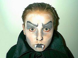 Geschminkte Vampier