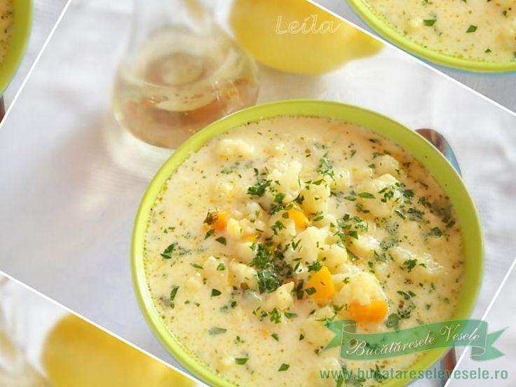 Supa de conopida cu galuscute