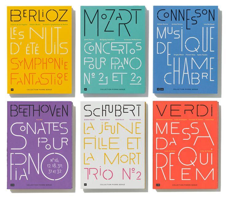 philip Apeloig Collection Pierre Bergé Coffrets CD 2012