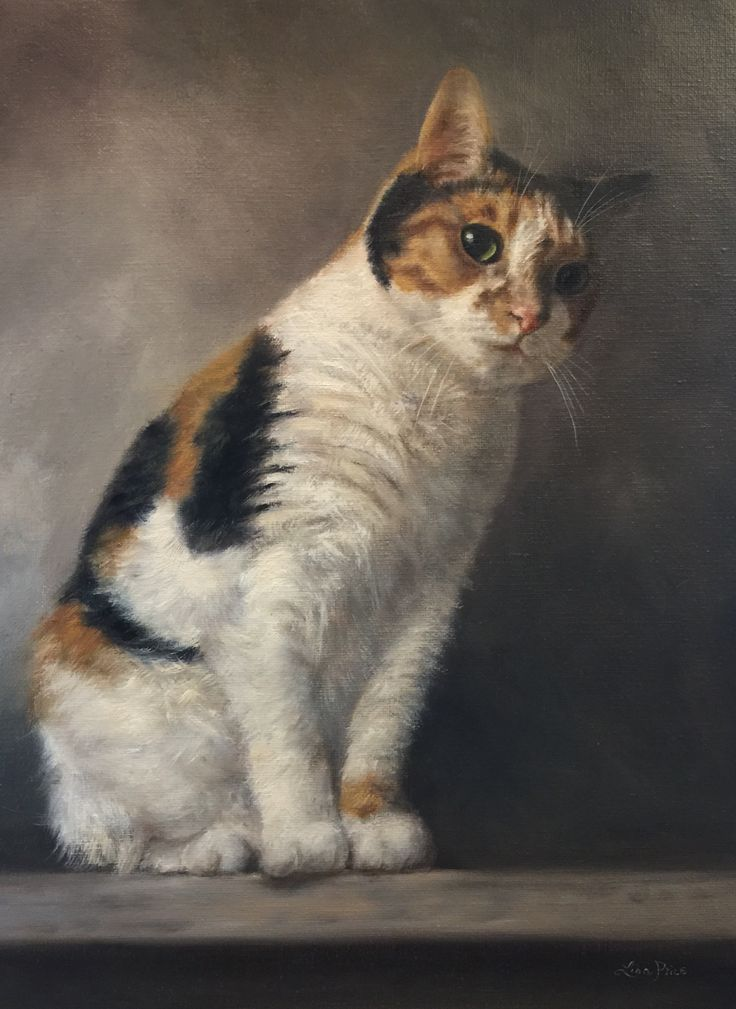 Amy's Perch by Lisa Price - Oil 16x20