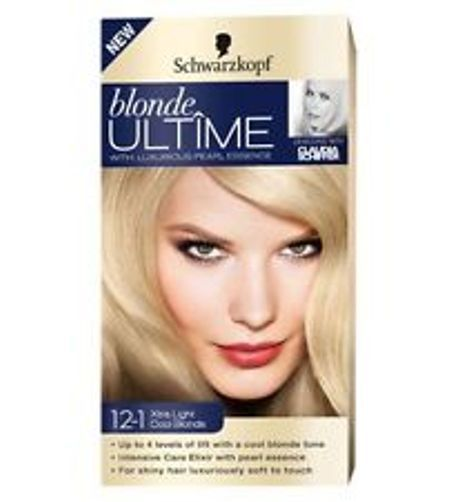 coloration schwarzkopf blonde ultime n121 xtralight cool blond neuf - Coloration Racine