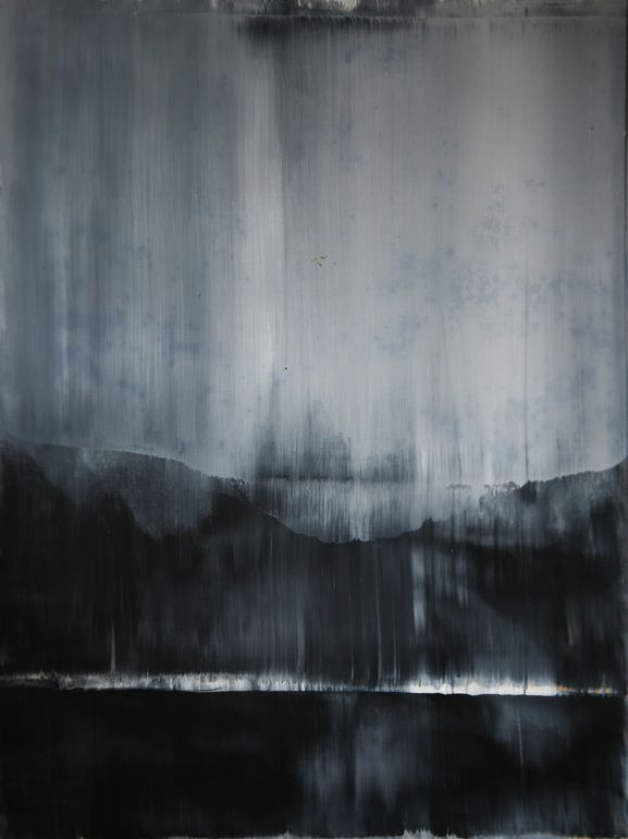 Made Paintings By Pouring Dripping Touching Paper