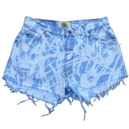 Scribble Shorts by Lent