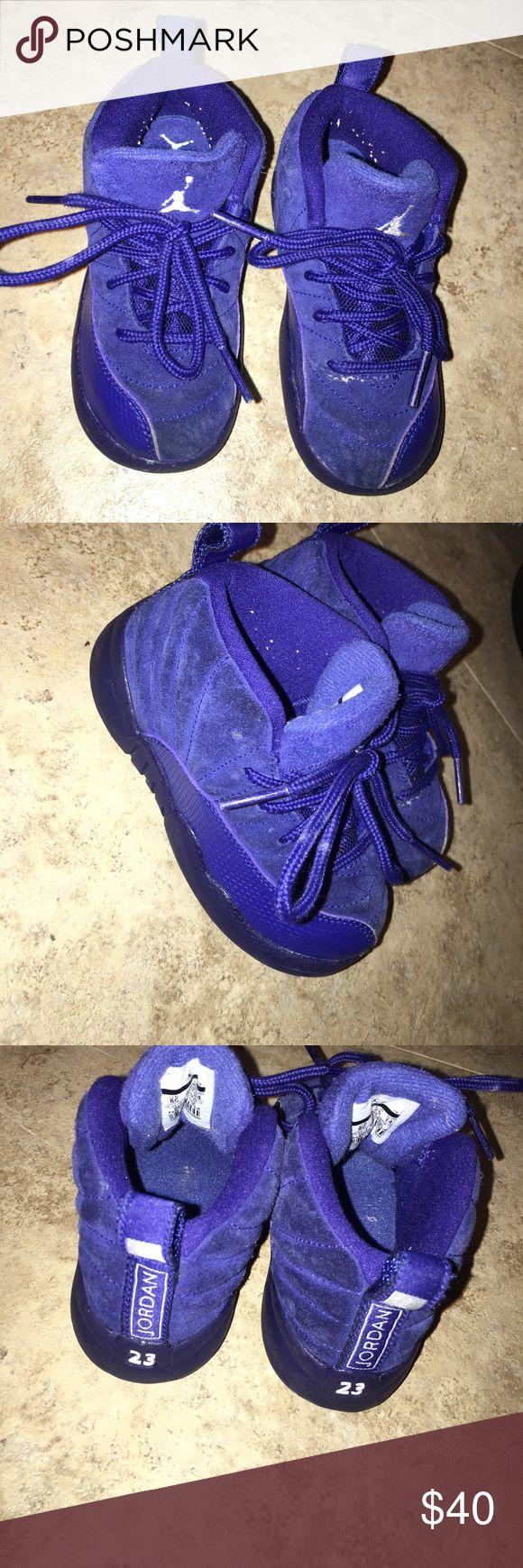 Toddler Jordans Royal blue toddler Jordans Air Jordan Shoes Sneakers