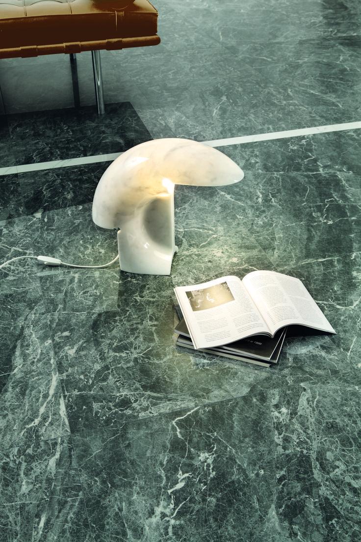 porcelain stoneware #tiles marble effect ANIMA collection