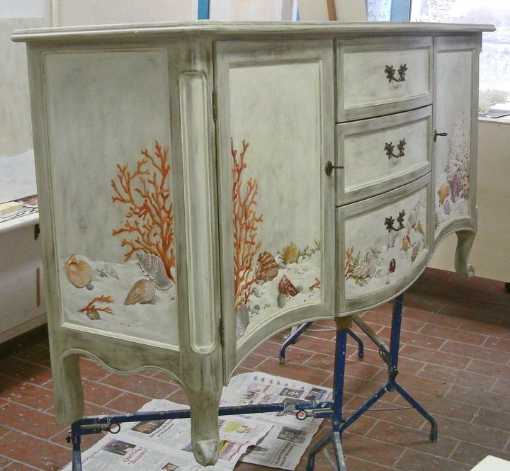 297 Best Hand Painted Furniture Images On Pinterest