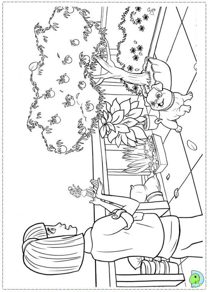 Pin Od Renata Na Barbie Coloring Barbie Coloring Pages Coloring