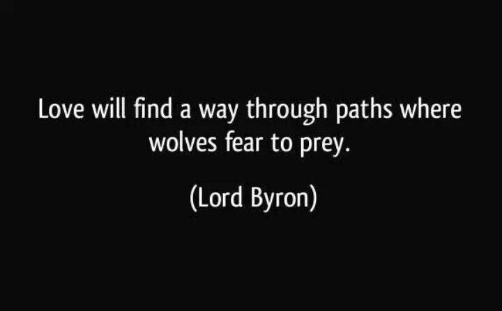 Lord Byron Quote Love Will Find A Way Through Paths Where: Die Besten 25+ Lord Byron Ideen Auf Pinterest