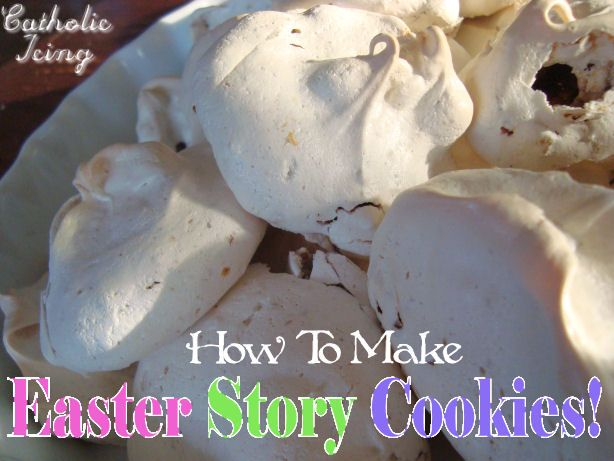 Make Easter Story Cookies as a meaningful and  fun activity with your kids this year. Full picture tutorial and free printable recipe with the bible verses!
