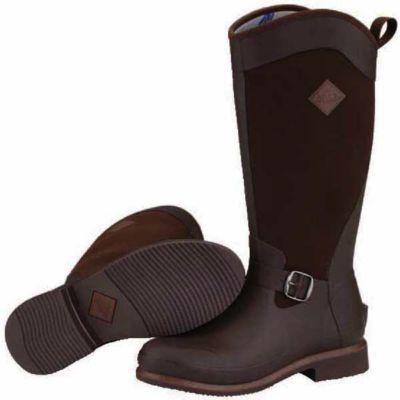 The Original Muck Boot Company Equus Ladies' 15 in. Brown Waterproof Rubber/Neoprene Boot