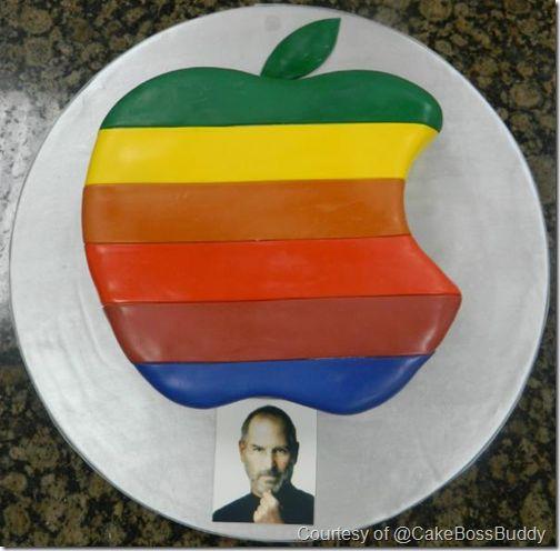 Cake Boss Steve Jobs Tribute #EasyNip Cake boss Pinterest