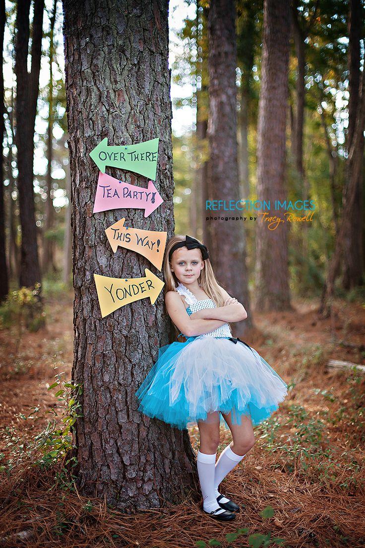 Alice in Wonderland Photoshoot | Florence, SC Stylized Photography | Reflection…