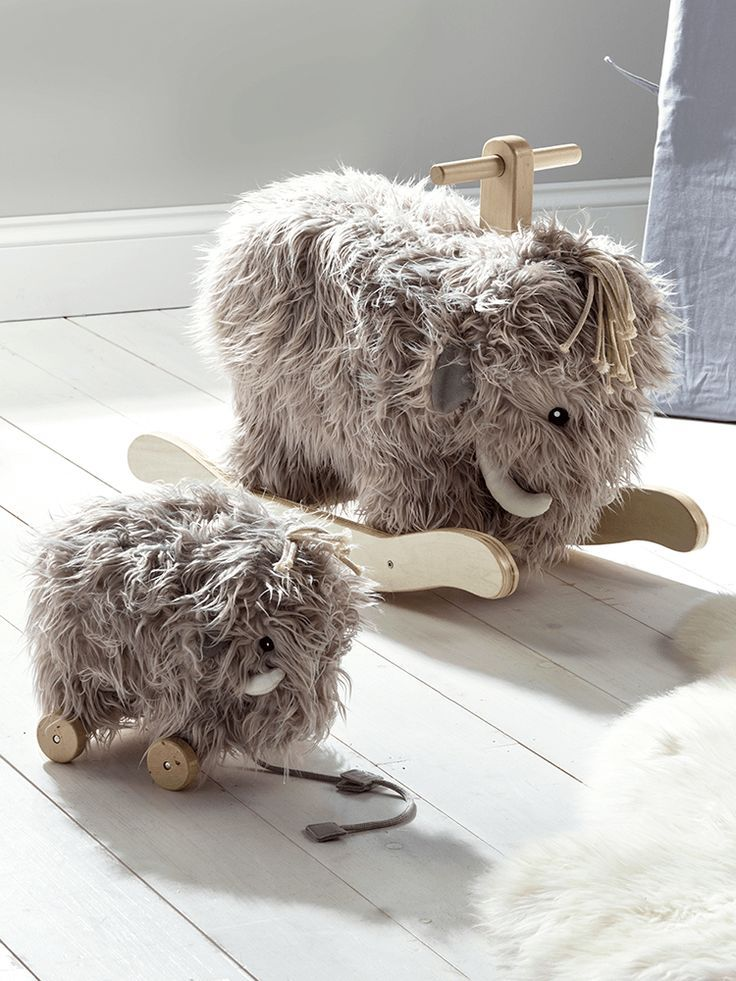 The perfect companions for any little one, our friendly pull toy and rocking mam… – Daniela May